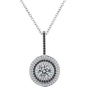 Diamond Pendant with Necklace Set